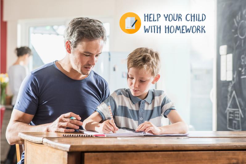 how to help kids with homework