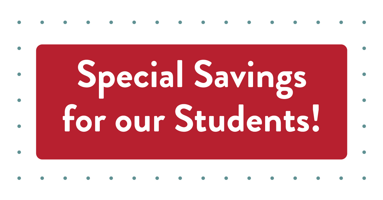 Special Saving for our Sutdents